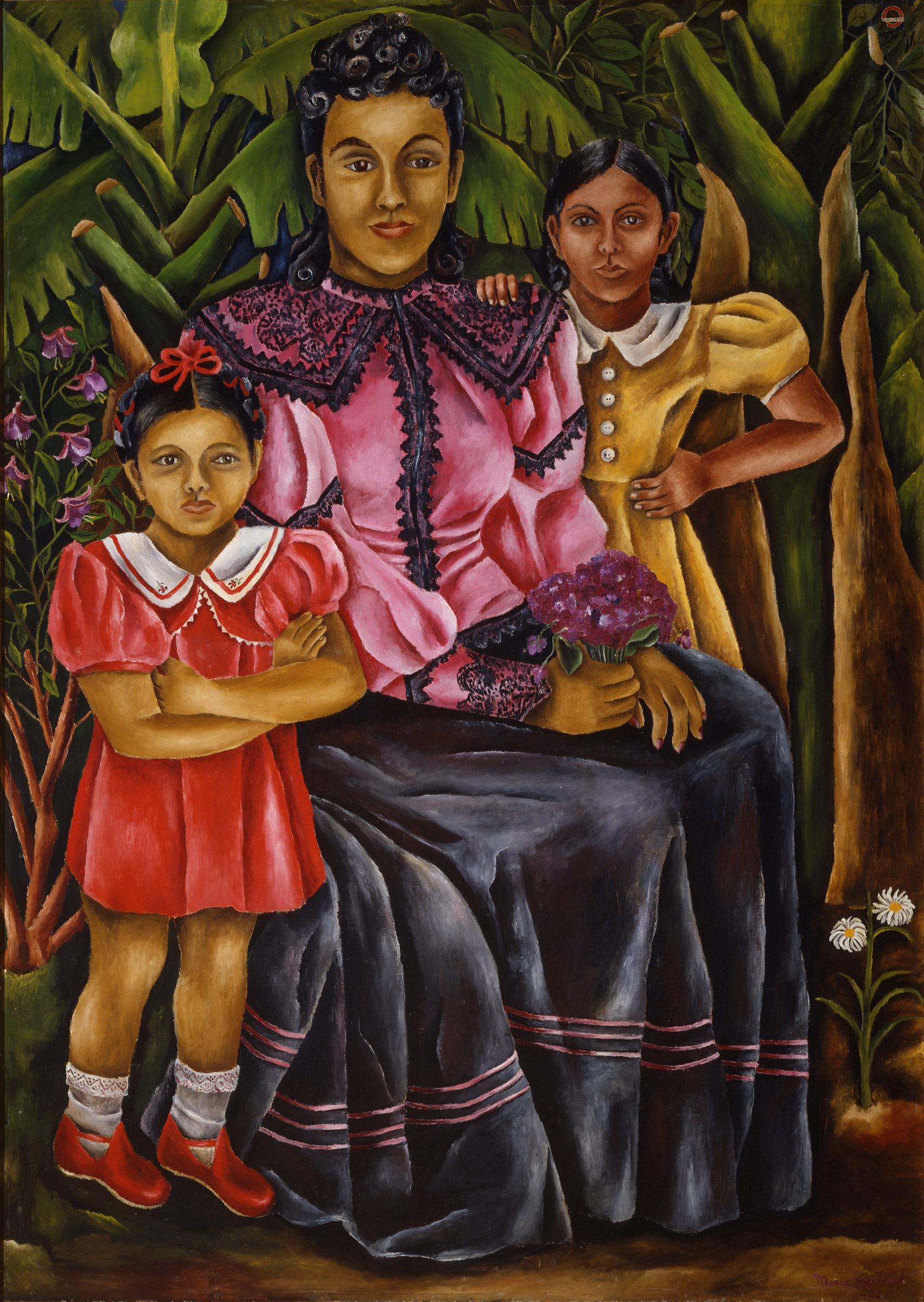 María Izquierdo, My Nieces , 1940