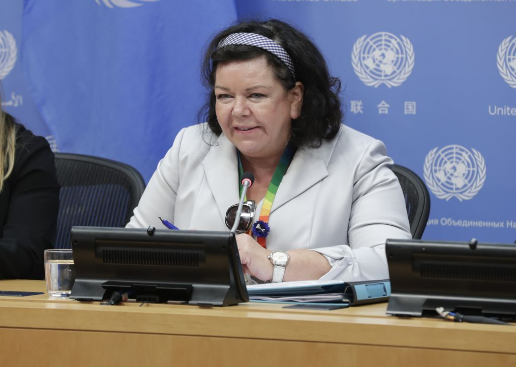 Karen Pierce, Former Permanent Representative of the United Kingdom to the United Nations has been make U.K. ambassador to the U.S. at the UN Headquarters in New York, November, 2019.