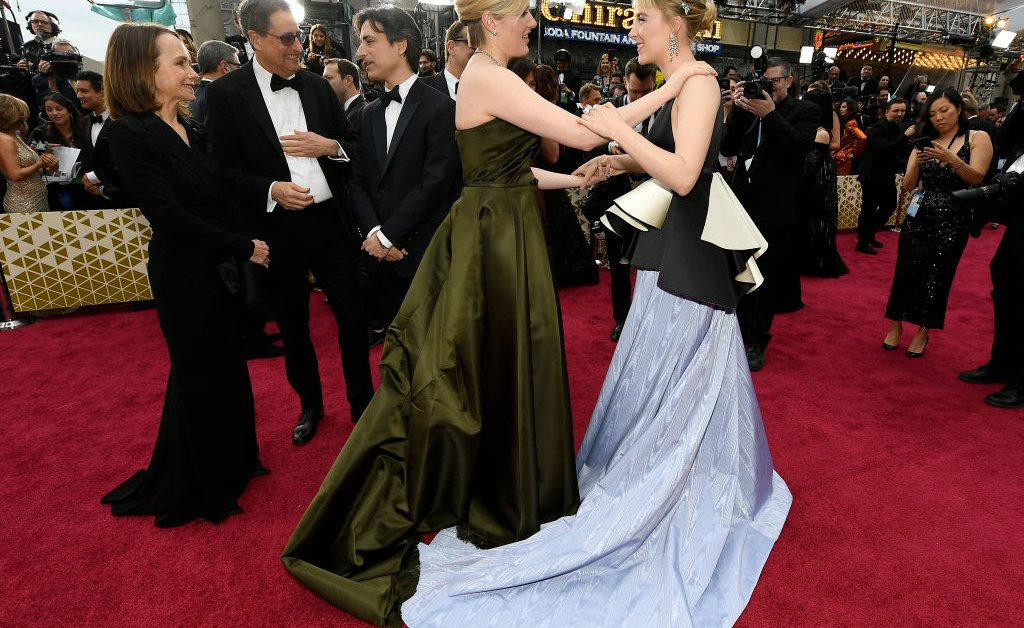 The Little Women Cast Just Rolled Up to the Oscars Carpet and the March Sister Chemistry Is Going Strong