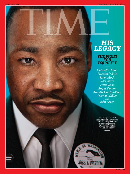 His Legacy Martin Luther King Time Magazine Cover