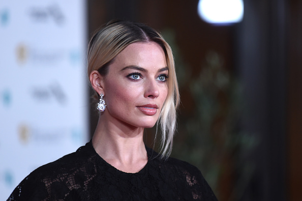 Margot Robbie attends the BAFTAs 2020 After Party at The Grosvenor House Hotel in London, England on February 02, 2020.