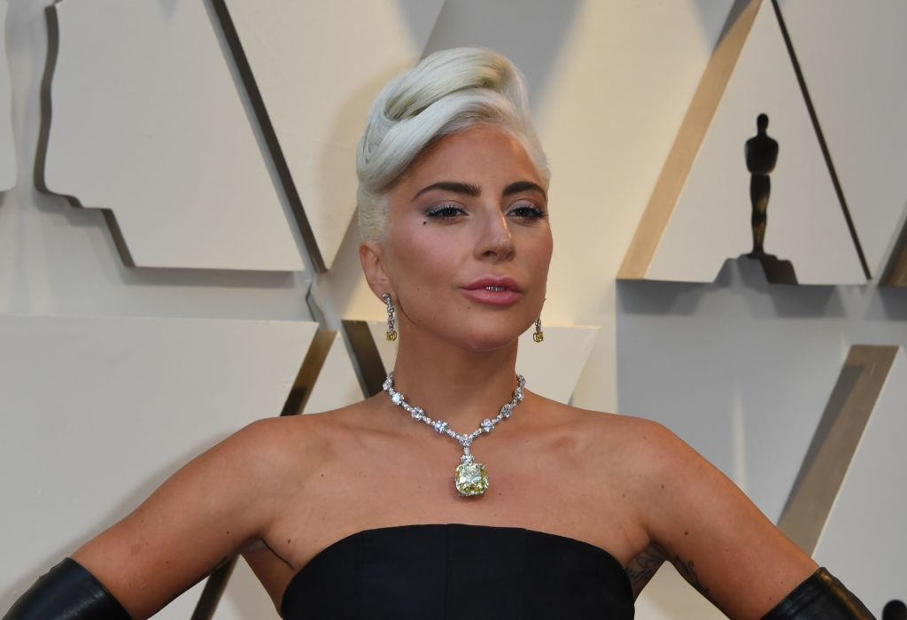 Best Original Song nominee for  Shallow  from  A Star is Born  Lady Gaga arrives for the 91st Annual Academy Awards at the Dolby Theatre in Hollywood, California on February 24, 2019.