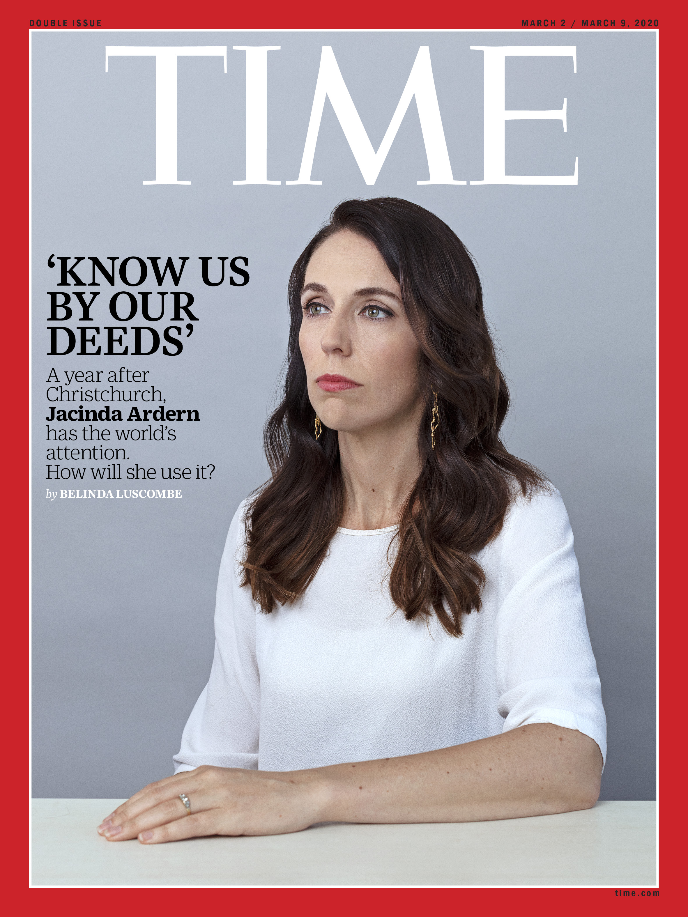 How Will Jacinda Ardern Use the World's Attention?   Time