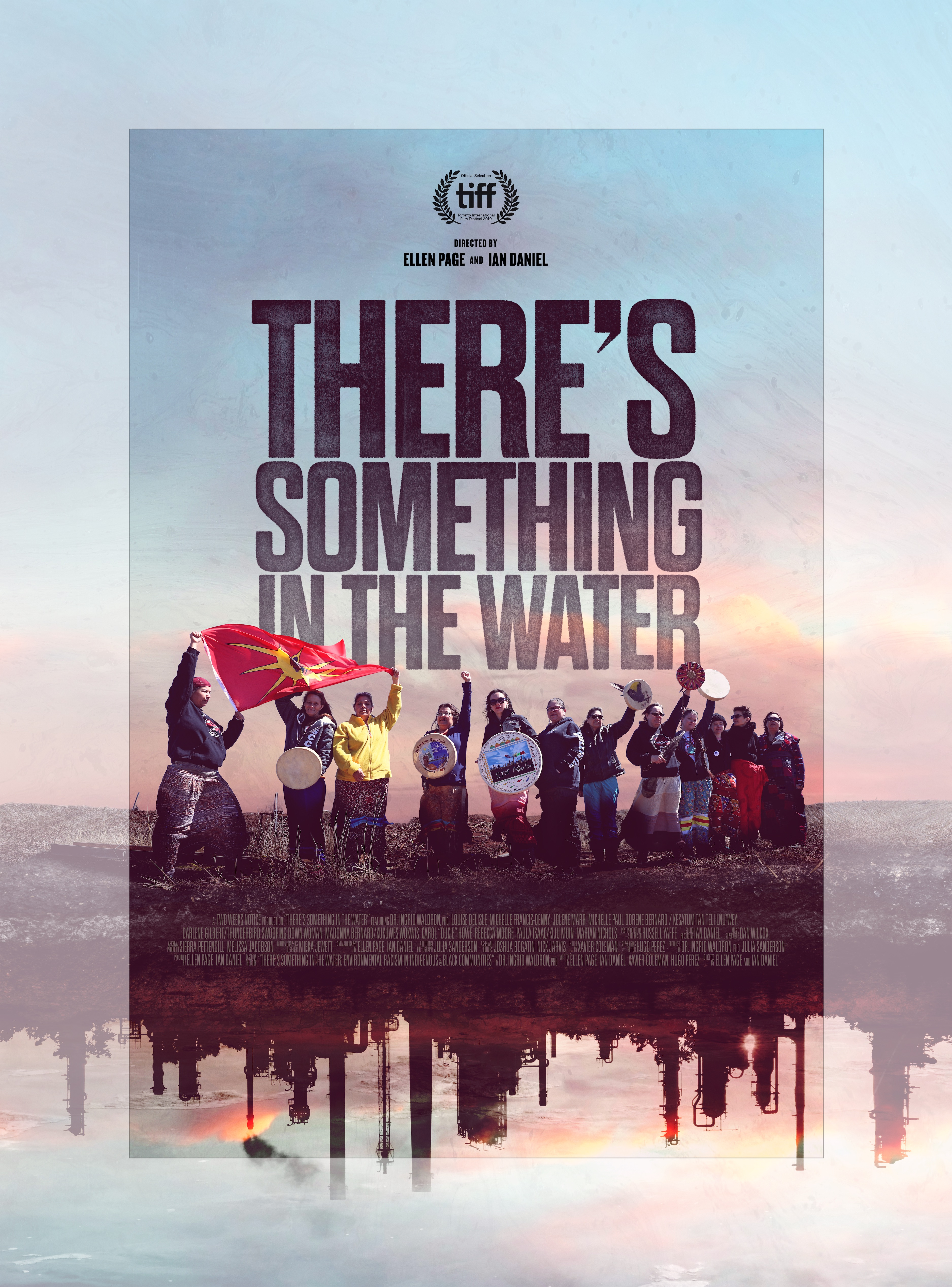 Movie poster for 'There's Something in the Water'