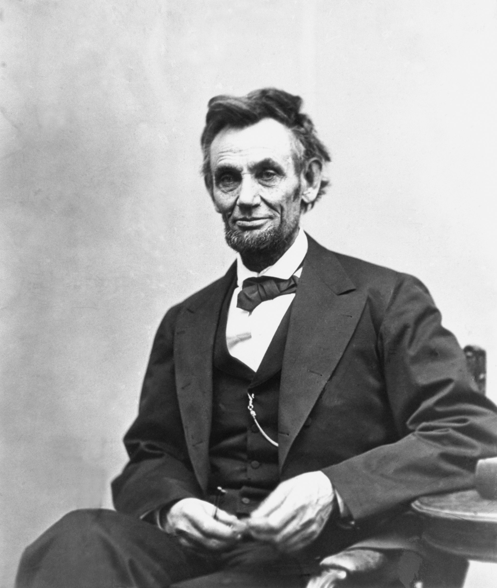Abraham Lincoln (1809-1865), the sixteenth President of the United States.