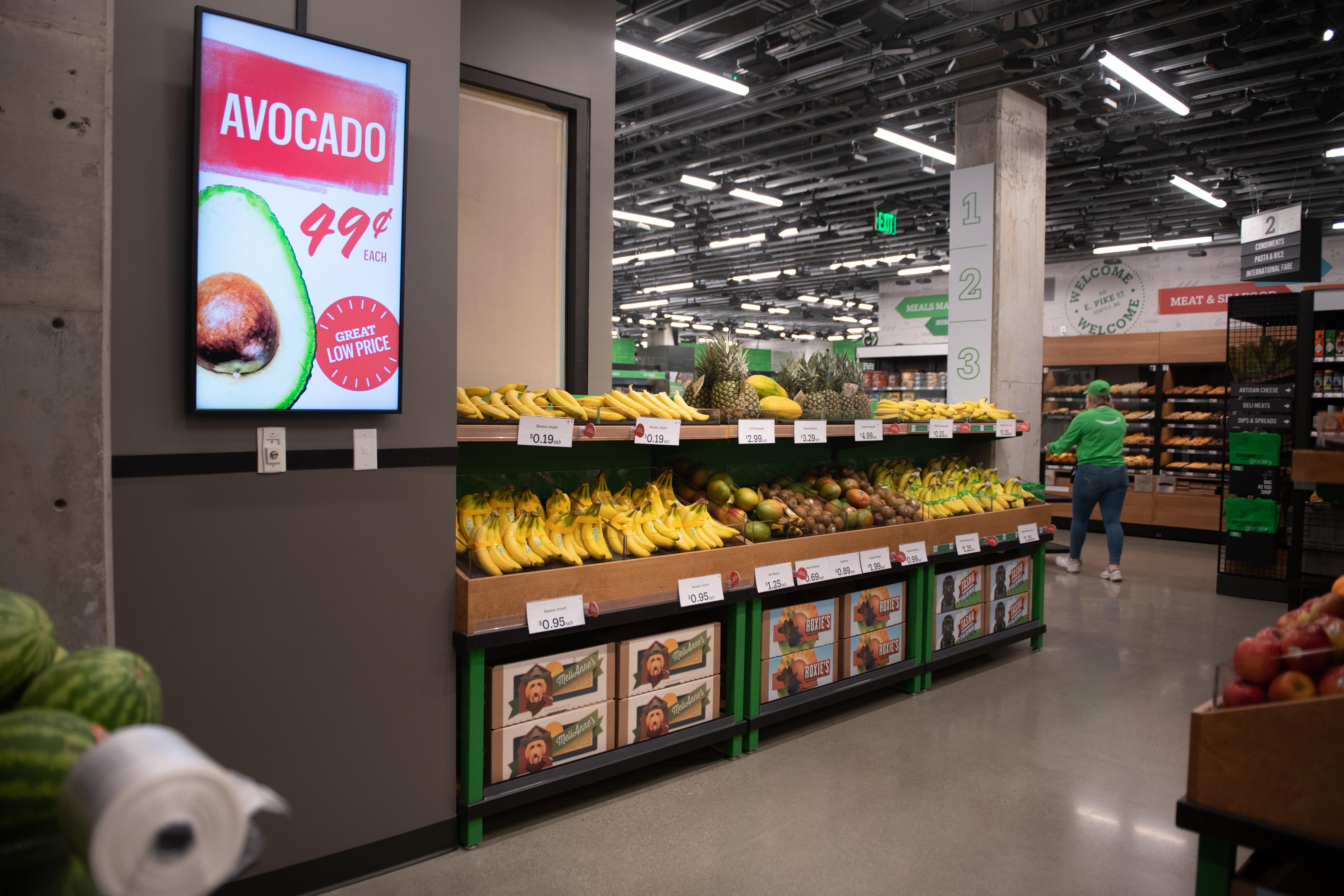 Resultado de imagen para AMAZON go grocery