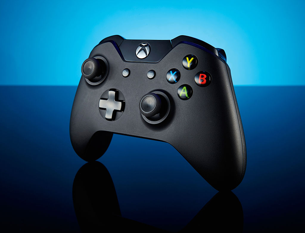 A Microsoft Xbox One wireless controller, taken on September 3, 2015. (Photo by Joby Sessions/PC Gamer Magazine/Future via Getty Images)