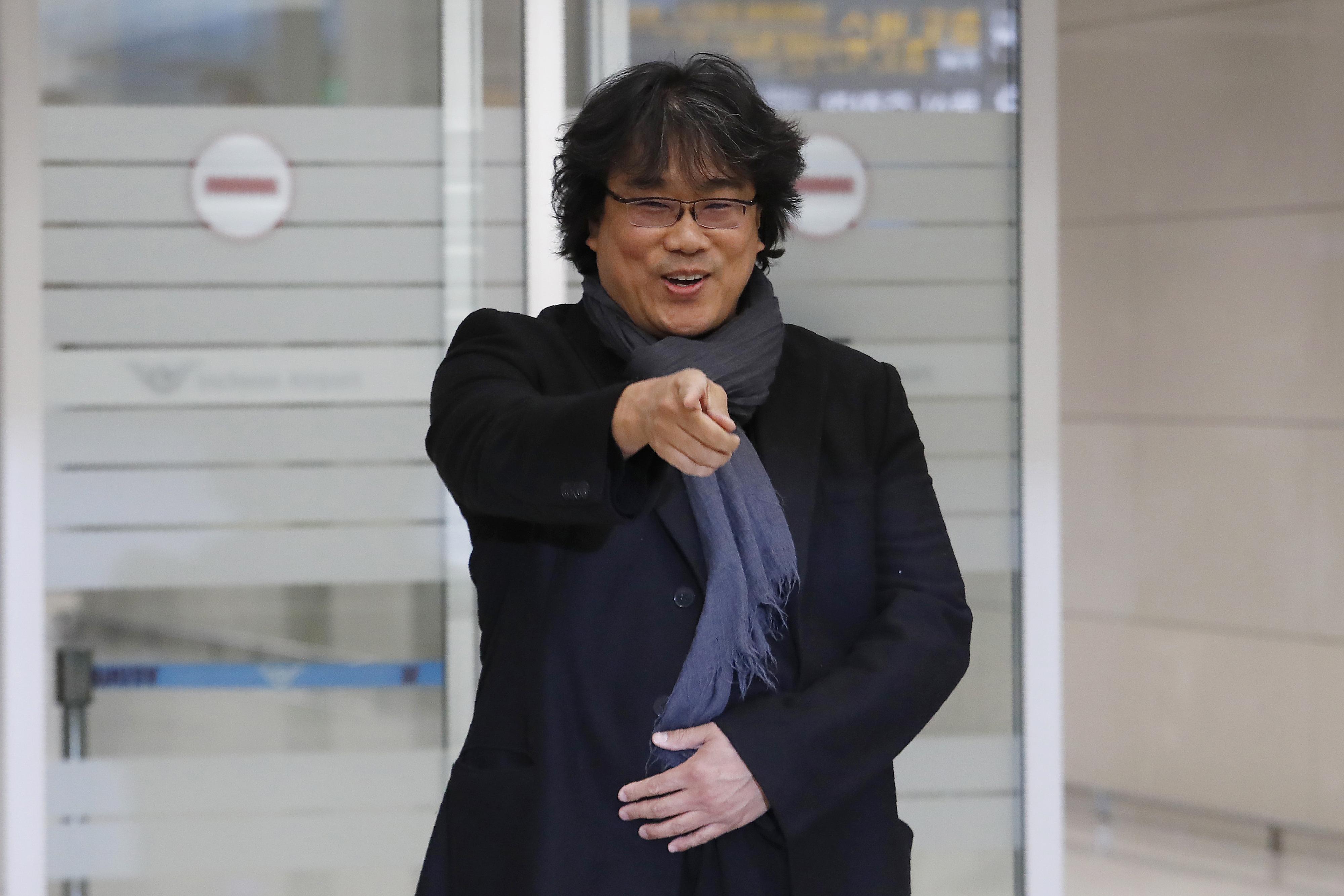 Image result for Bong returns home to South Korea