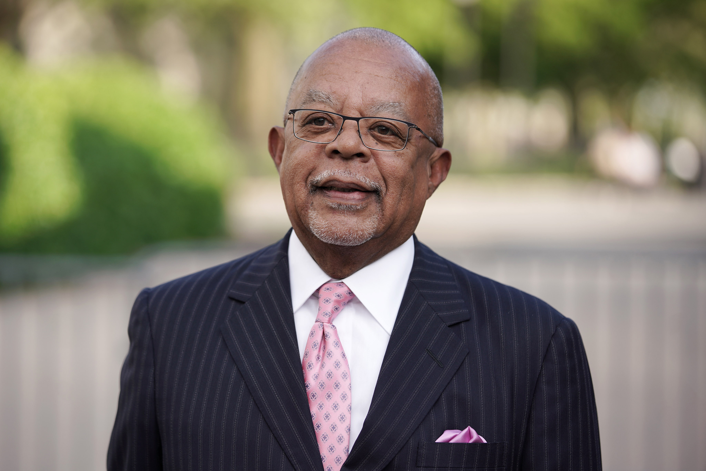 Henry Louis Gates Jr. arrives at the Statue Of Liberty Museum Opening Celebration at Battery Park in New York City on May 15, 2019.