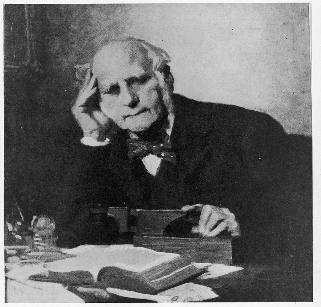 Scientist Sir Francis Galton (1822-1911)