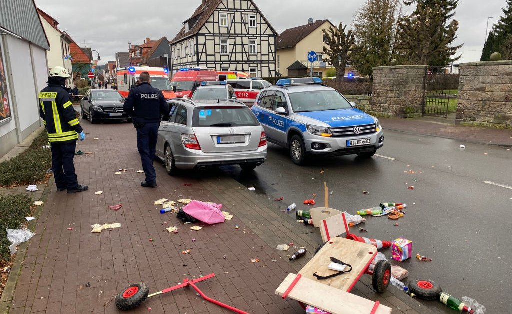 Multiple Injuries Reported After Car Slams Into Crowd at Carnival Procession in Germany