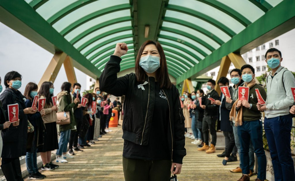 'This Shouldn't Be About Politics.' Hong Kong Medical Workers Call for Border Shutdown Amid Coronavirus Outbreak