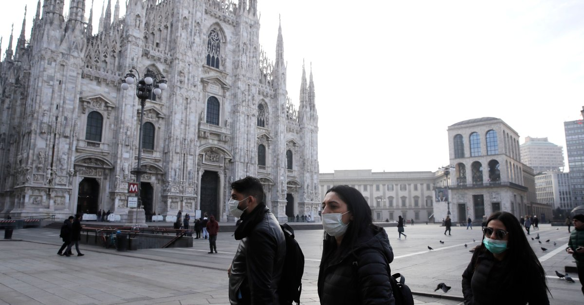 Authorities Stop Venice's Famed Carnival Events in Effort to Contain Italy's Spread of COVID-19