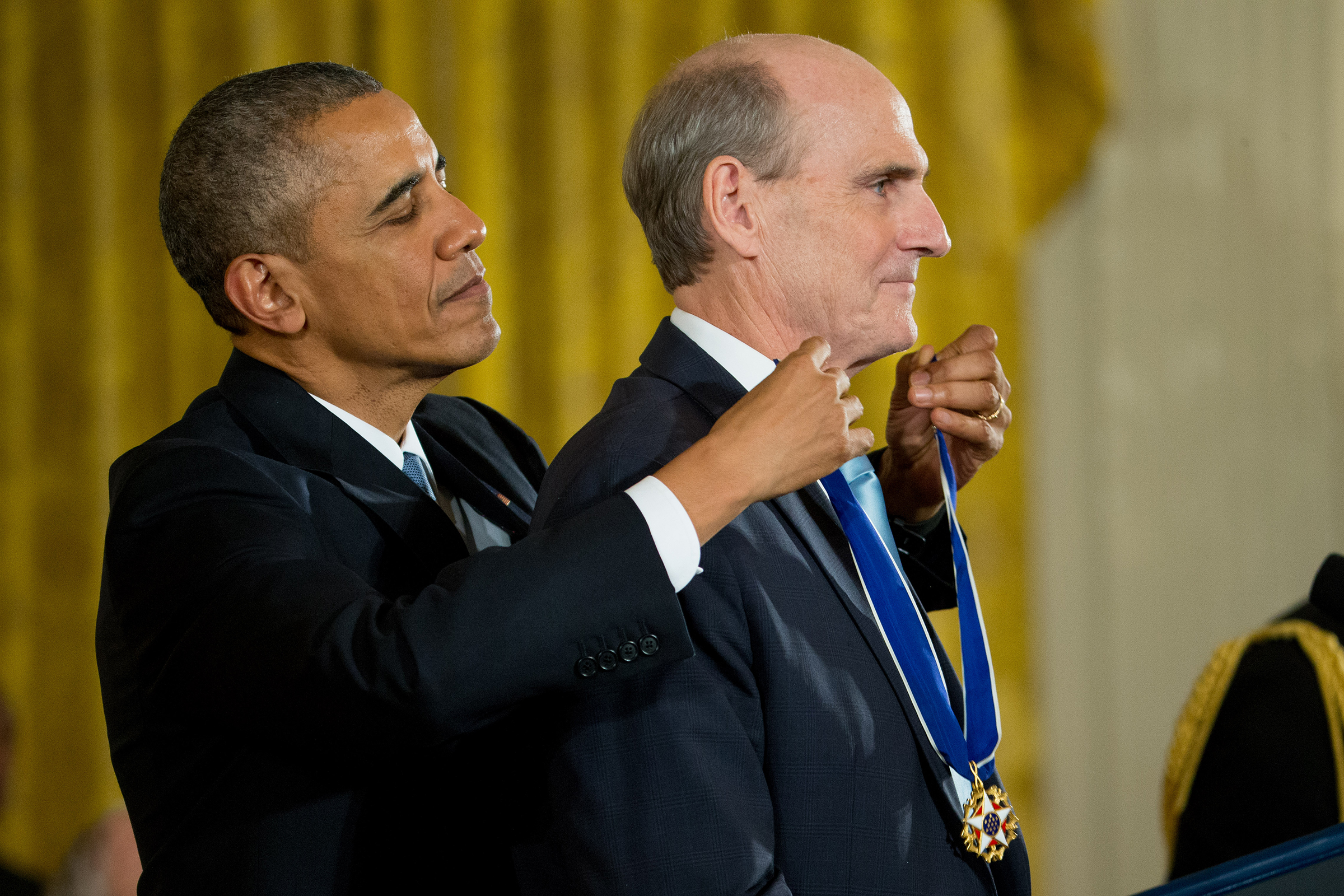 2015: Receives the Presidential Medal of Freedom