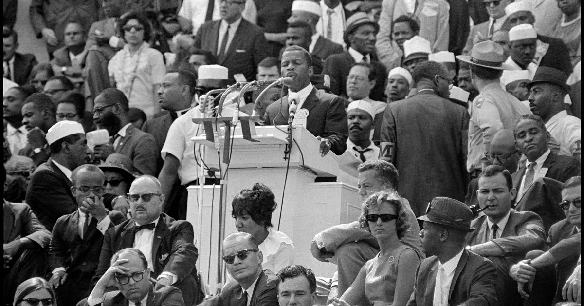 John Lewis on What's Changed—and What Hasn't—Since the March on Washington