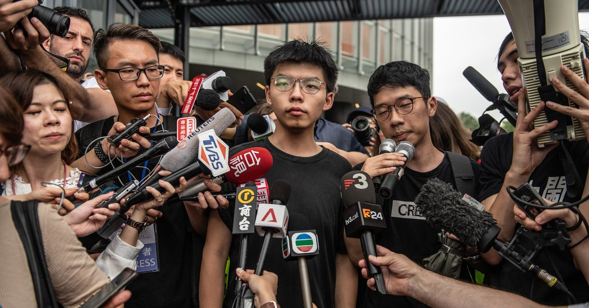 """Hong Kong is at an Existential Crossroads."" Joshua Wong on the Future of His Homeland."
