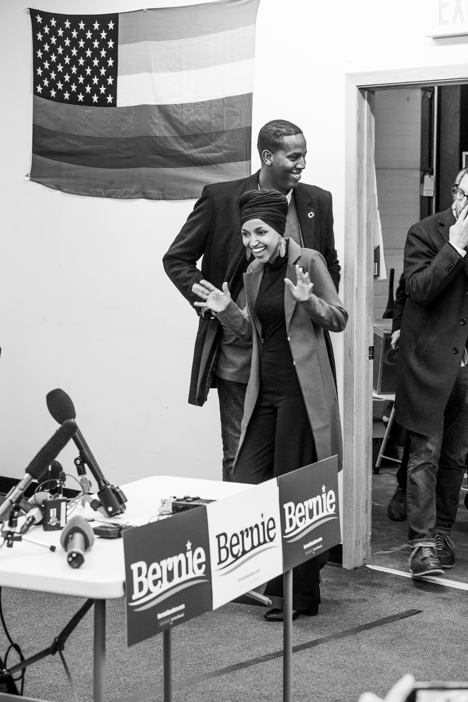aunch at the Bernie 2020 Des Moines Field Office, Jan. 30, 2020.