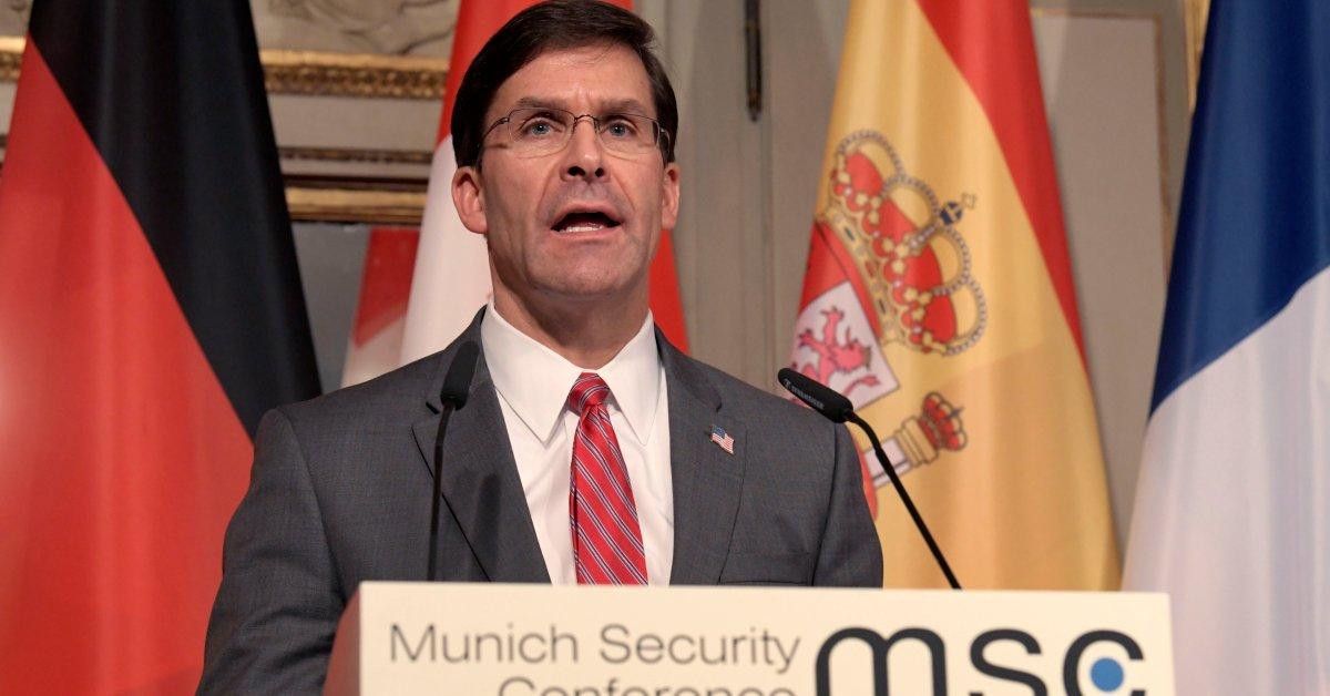 `Border Security Is National Security.` Mark Esper Defends...