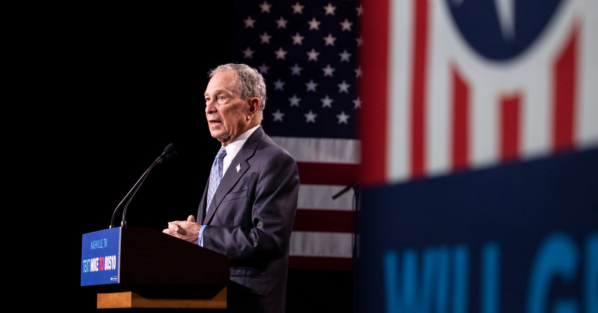 Michael Bloomberg Just Qualified For His First 2020 Democratic Presidential Primary Debate