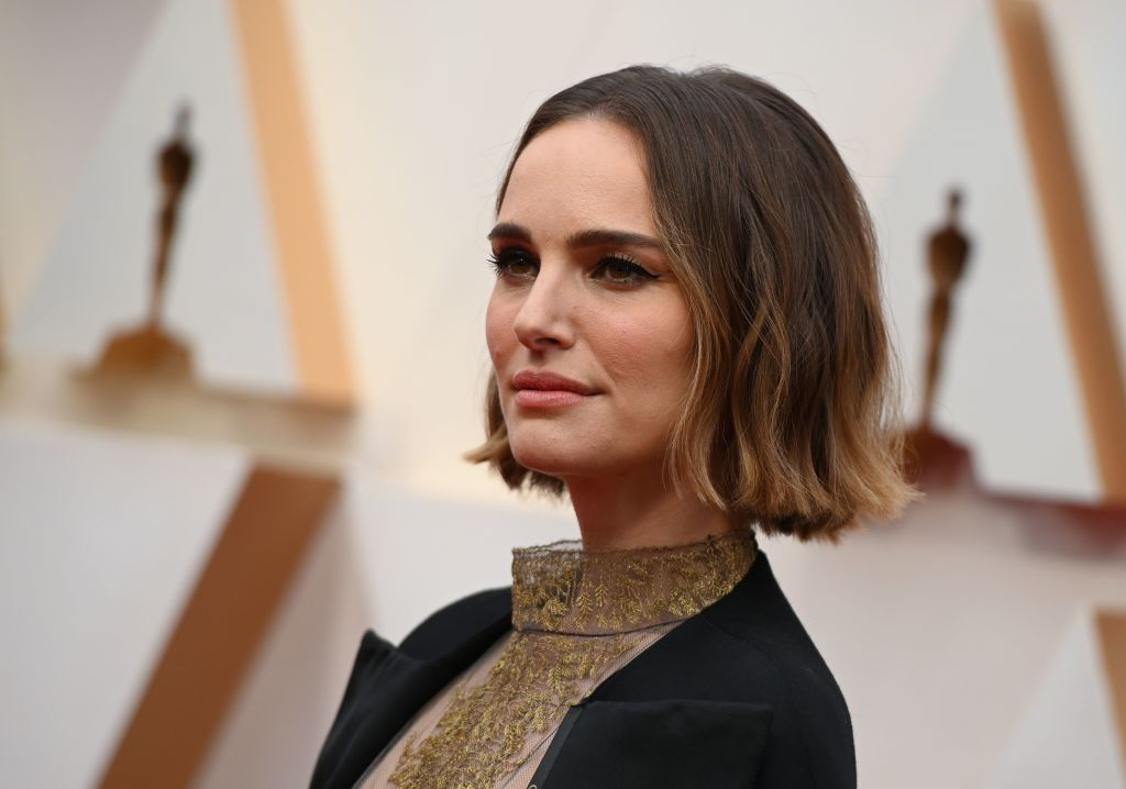 Natalie Portman arrives for the 92nd Oscars at the Dolby Theatre in Hollywood, California on February 9, 2020.