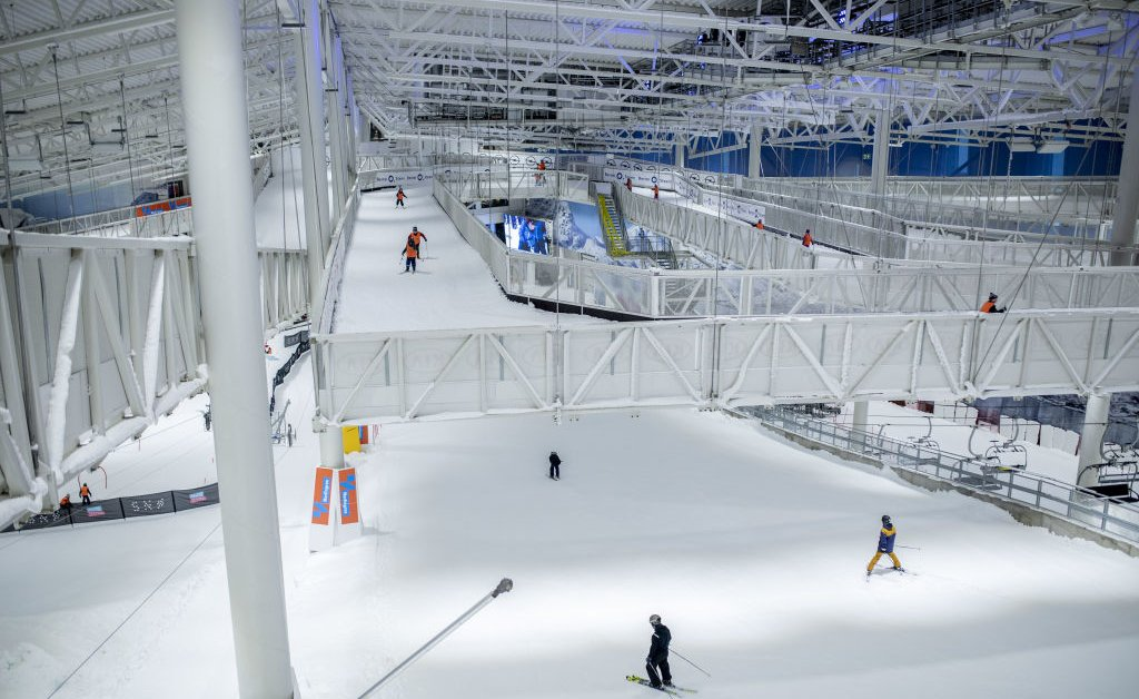 Thanks to Climate Change, Even Norwegians Are Skiing Indoors This Winter