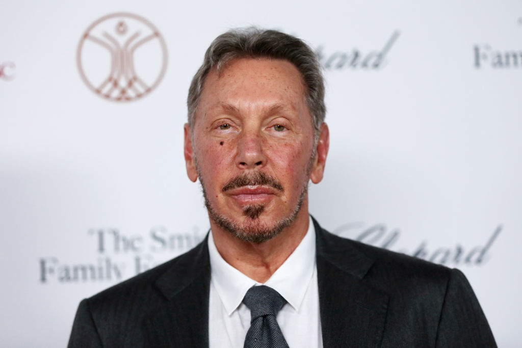 Larry Ellison attends the Rebels With A Cause Gala 2019 at Lawrence J Ellison Institute for Transformative Medicine of USC on Oct. 24, 2019 in Los Angeles.
