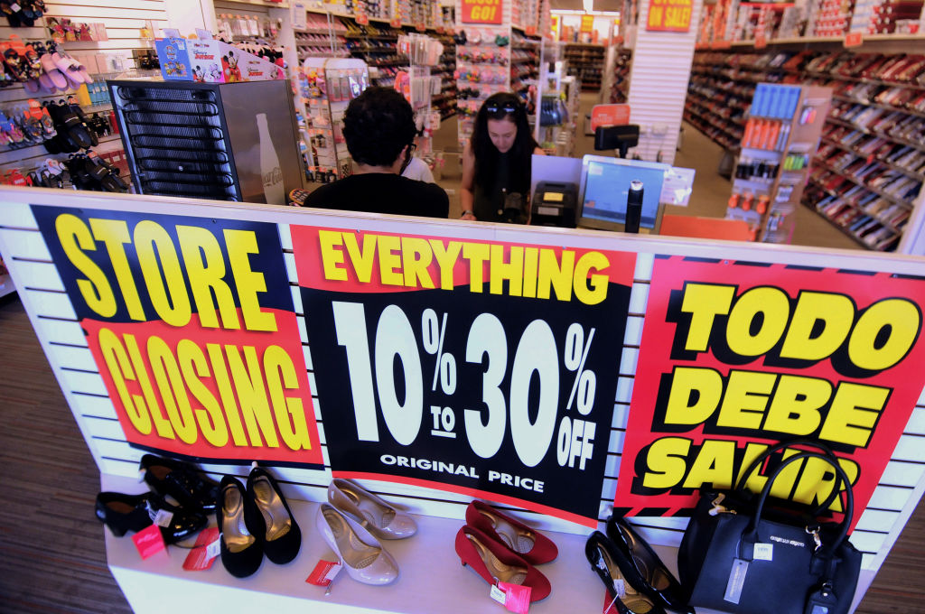 A Payless ShoeSource store is seen in Orlando, Florida on February 17, 2019, the first day of the firm's liquidation sale after confirming on February 15, 2019 that it will close its 2,100 stores.