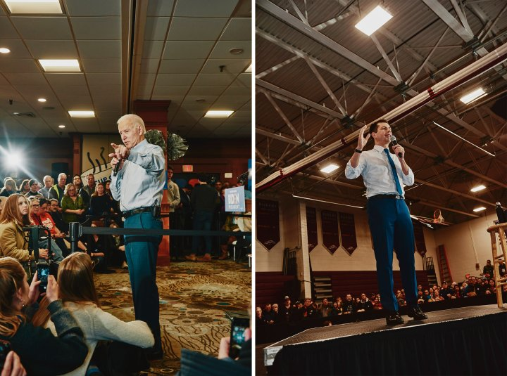 Hampton, New Hampshire - February 9, 2020: Former Vice President Joe Biden speaking at his GOTV Event at Ashworth by the Sea in Hampton, New Hampshire. Credit: Tony Luong for Time