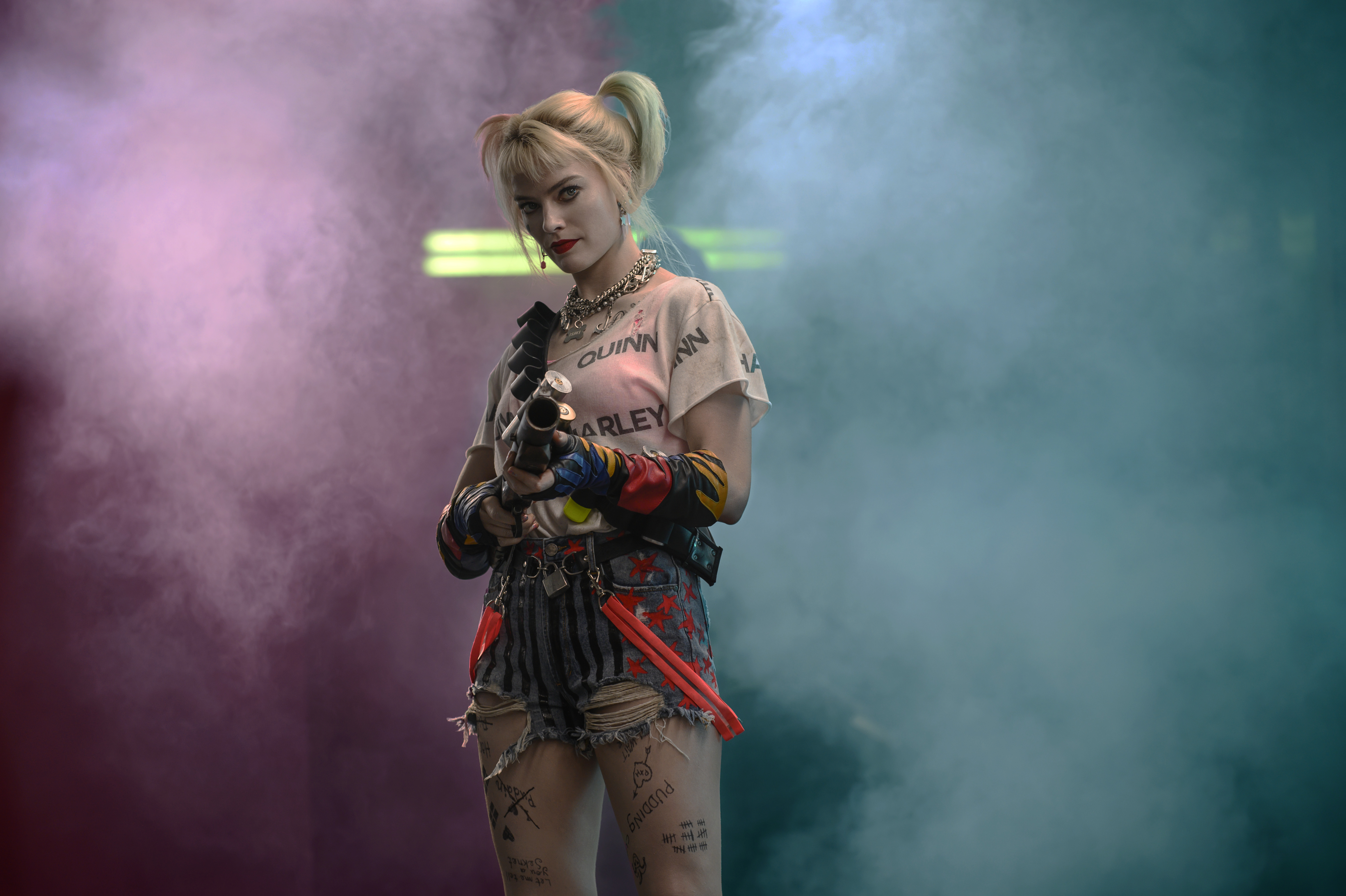 Margot Robbie in 'Birds of Prey (And The Fantabulous Emancipation of Harley Quinn.'