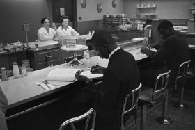 Lunch Counter Protest in North Carolina