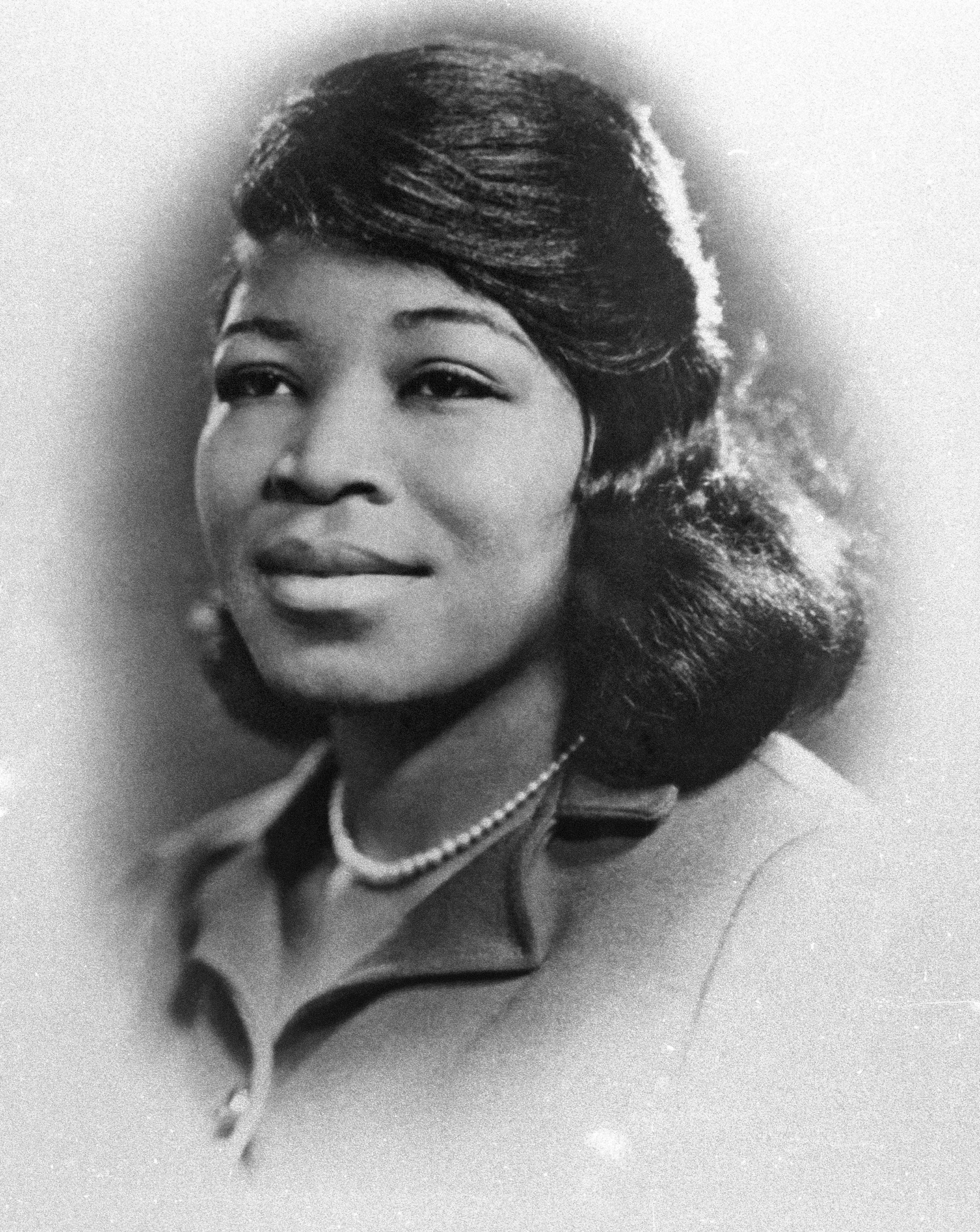 Betty Shabazz (Wife of Malcolm X) poses for a portrait circa 1964 in New York City.