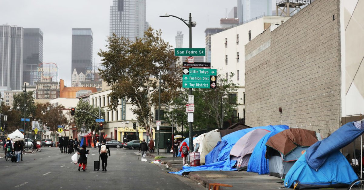 Man Pleads Guilty for Alleged Role in Voter Fraud Scheme Involving Homeless People in LA