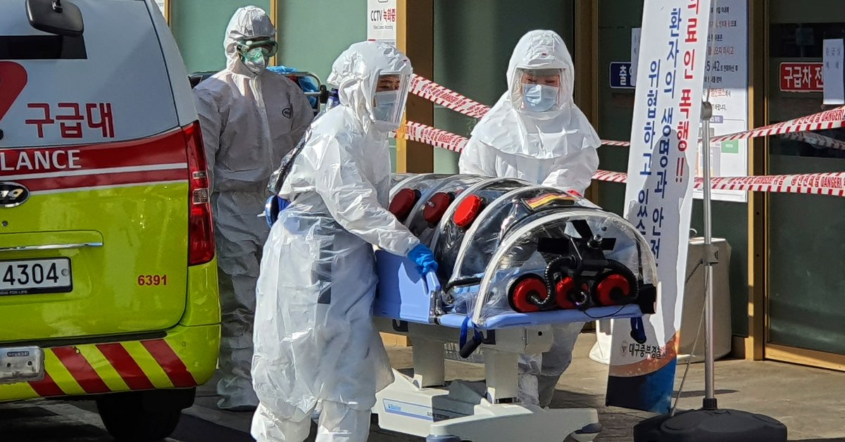South Korea Reports Virus Death as 2.5 Million Urged to Stay Home