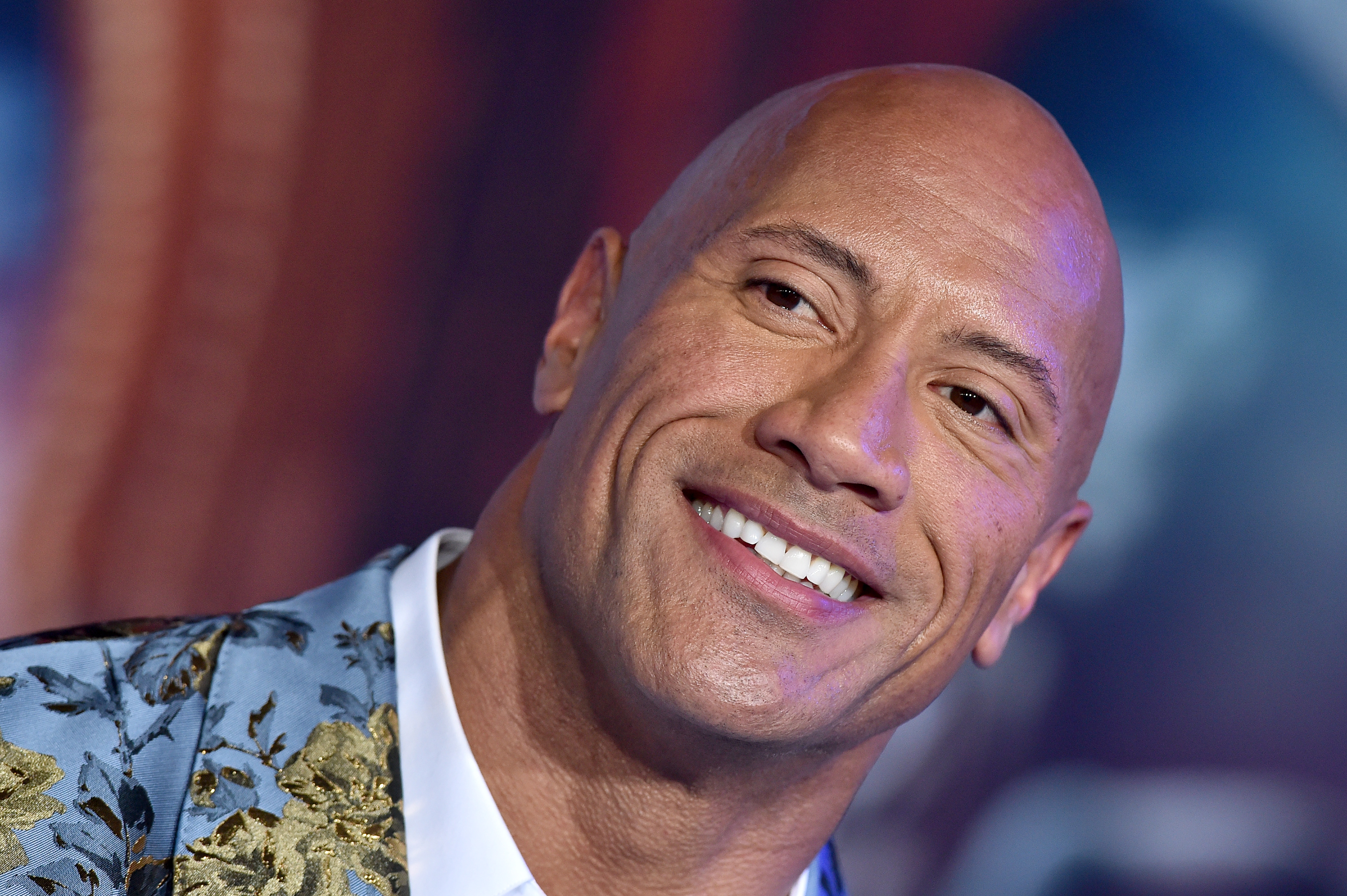 Dwayne Johnson attends the premiere of Sony Pictures'  Jumanji: The Next Level  on December 09, 2019 in Hollywood, California.