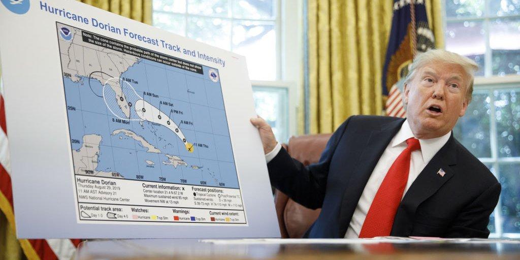 SharpieGate: Documents Show NOAA's Panic Over Trump's Dorian Map ...
