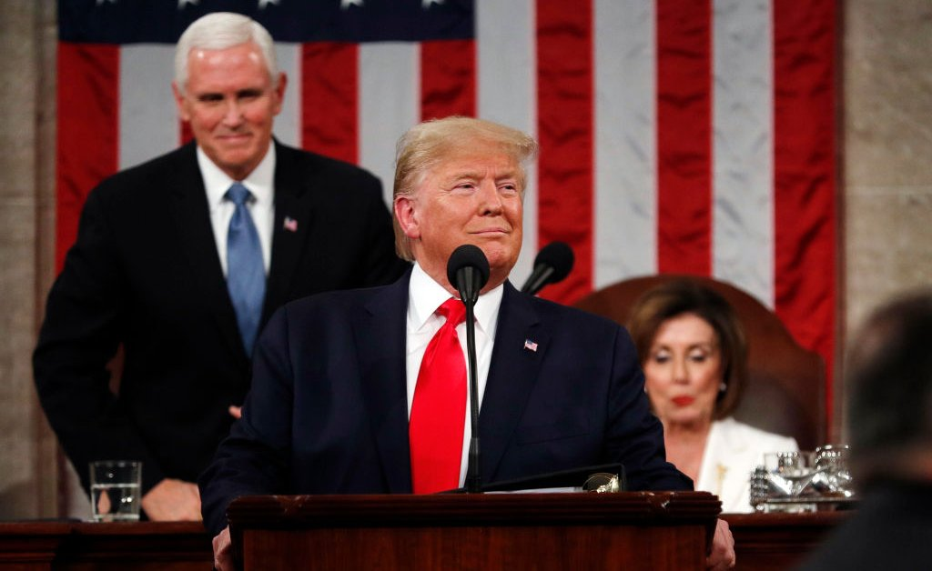Read the Full Transcript of President Trump's 2020 State of the Union Address