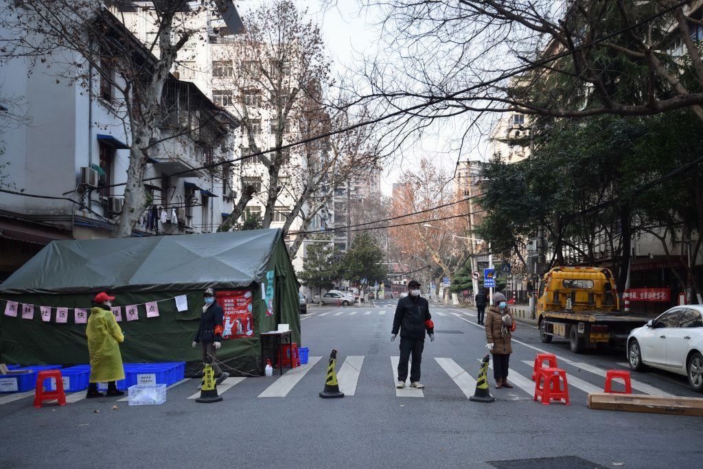 """La metropoli di Wuhan nel periodo di """"lockdown"""""""