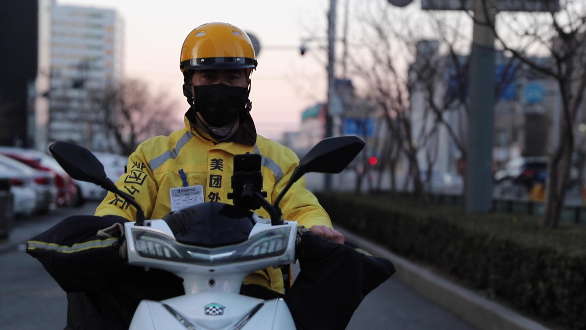 China's estimated 3 million motorcycle delivery drivers are shouldering the burden of keeping the population from going hungry