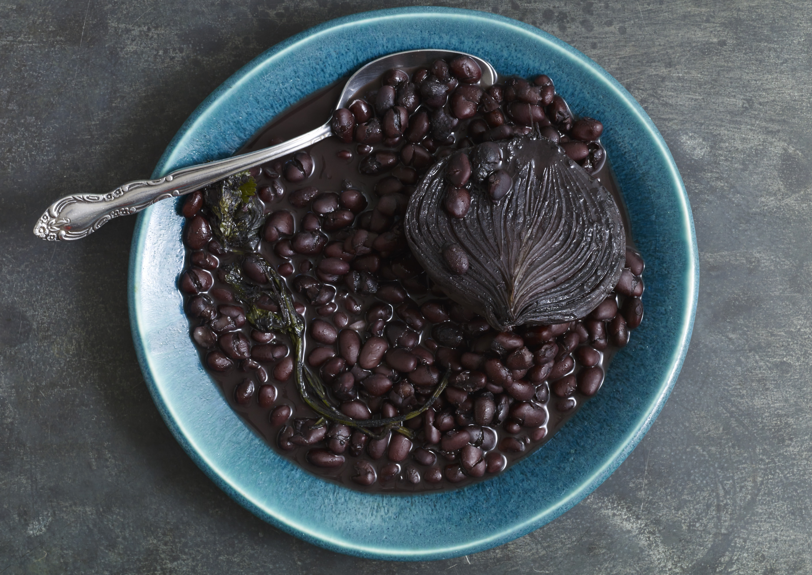 Pati Jinich's Black Beans from the Pot