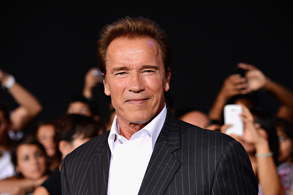 Actor Arnold Schwarzenegger arrives at Lionsgate Films'  The Expendables 2  premiere on August 15, 2012 in Hollywood, California.