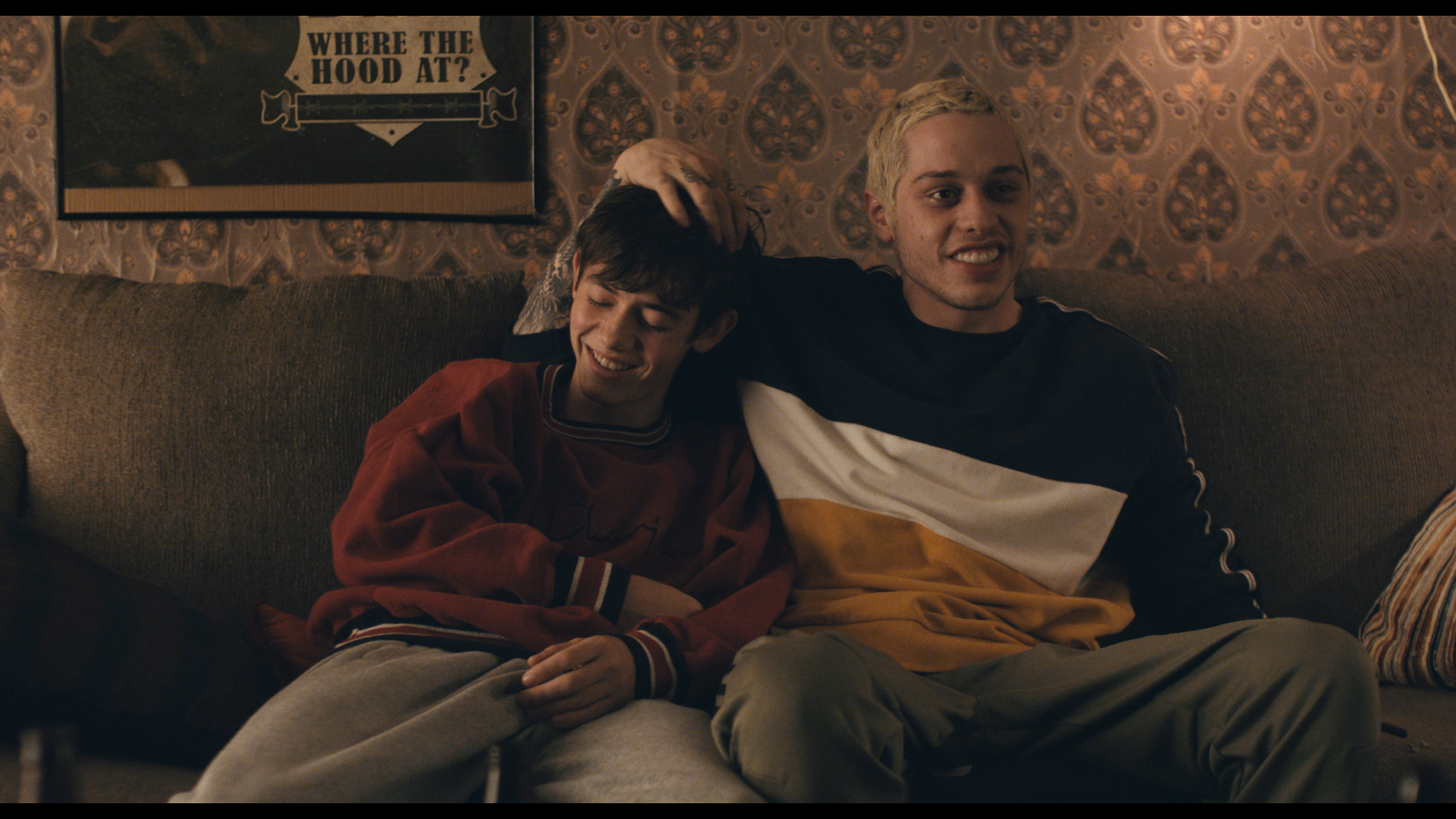Griffin Gluck and Pete Davidson in 'Big Time Adolescence.'