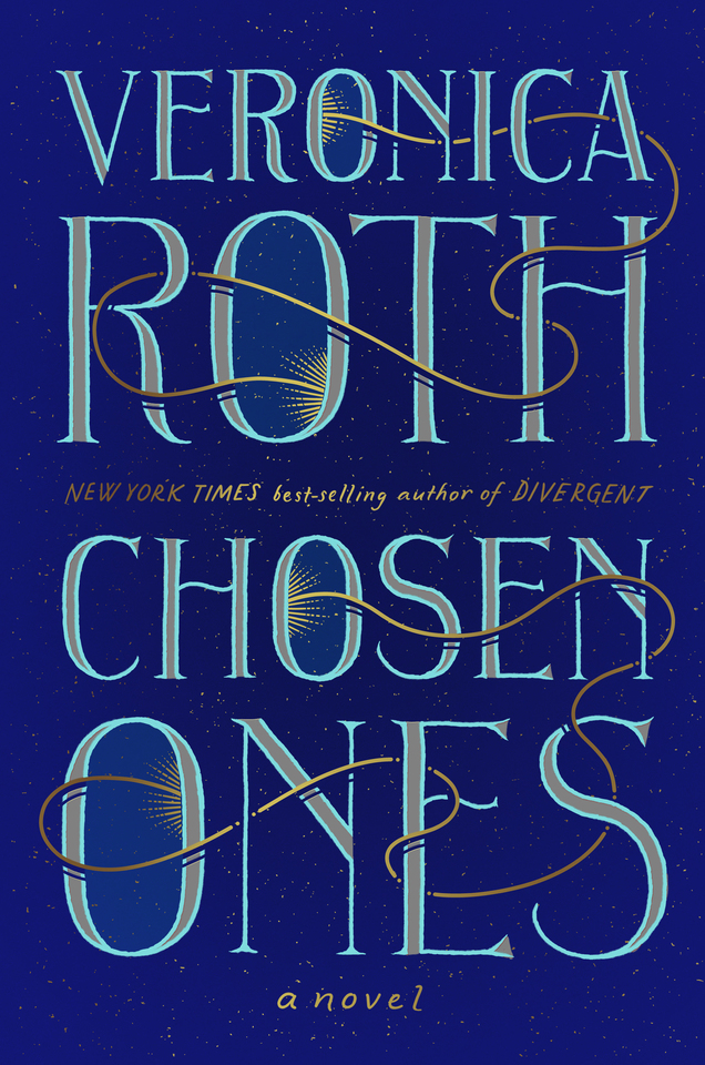 The cover of Chosen Ones, a novel by Veronica Roth