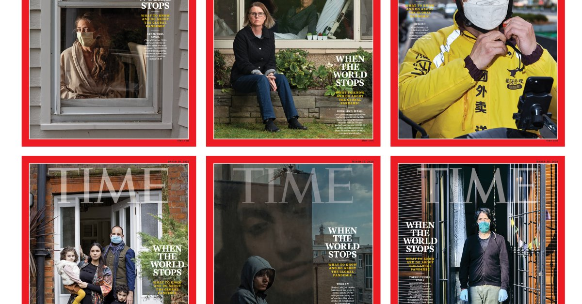 Behind the Covers of TIME's Special Coronavirus Issue