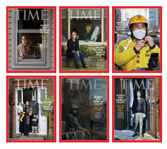 When the World Stops Time Magazine cover