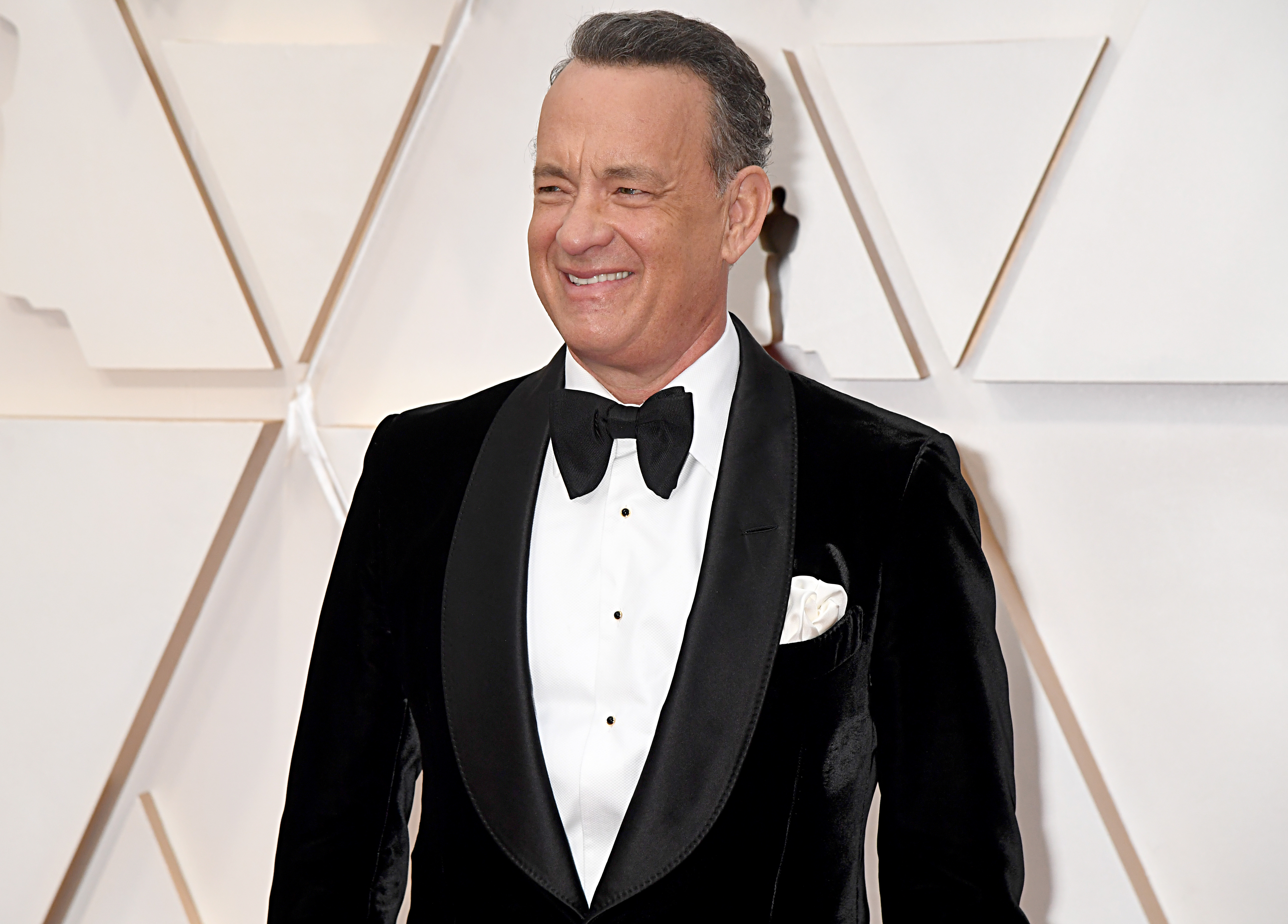 Tom Hanks attends the 92nd Annual Academy Awards on February 09, 2020 in Hollywood, California.