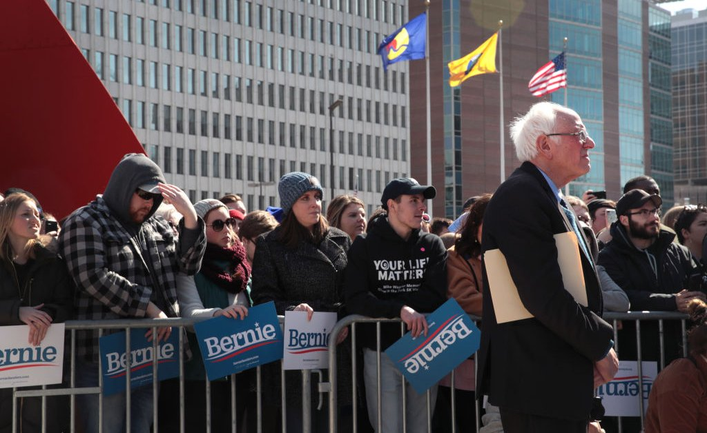 The Future of Bernie Sanders' Campaign Could Depend on Michigan thumbnail