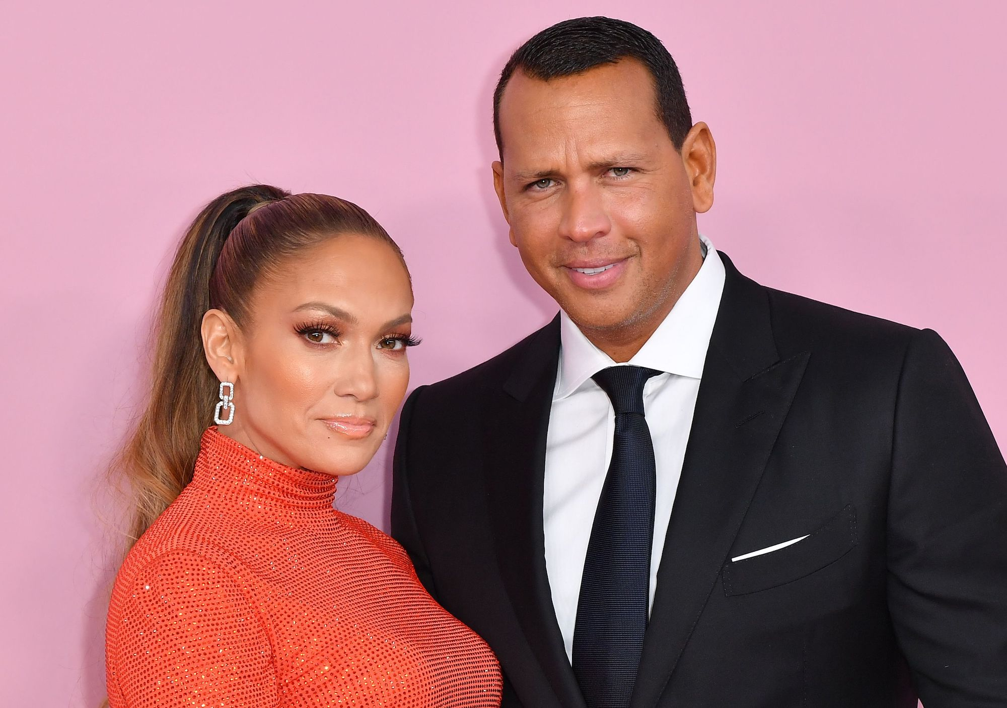 Jennifer Lopez attends CFDA red carpet with husband.