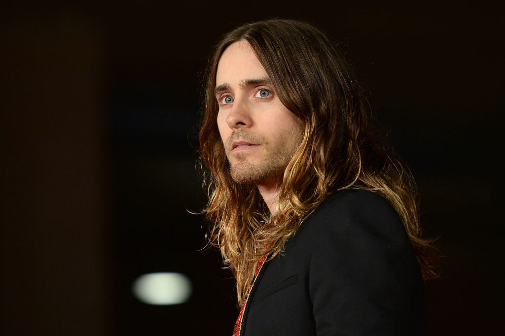Actor Jared Leto attends 'Dallas Buyers Club' Premiere And Vanity Fair Award during The 8th Rome Film Festival at Auditorium Parco Della Musica on November 9, 2013 in Rome, Italy.