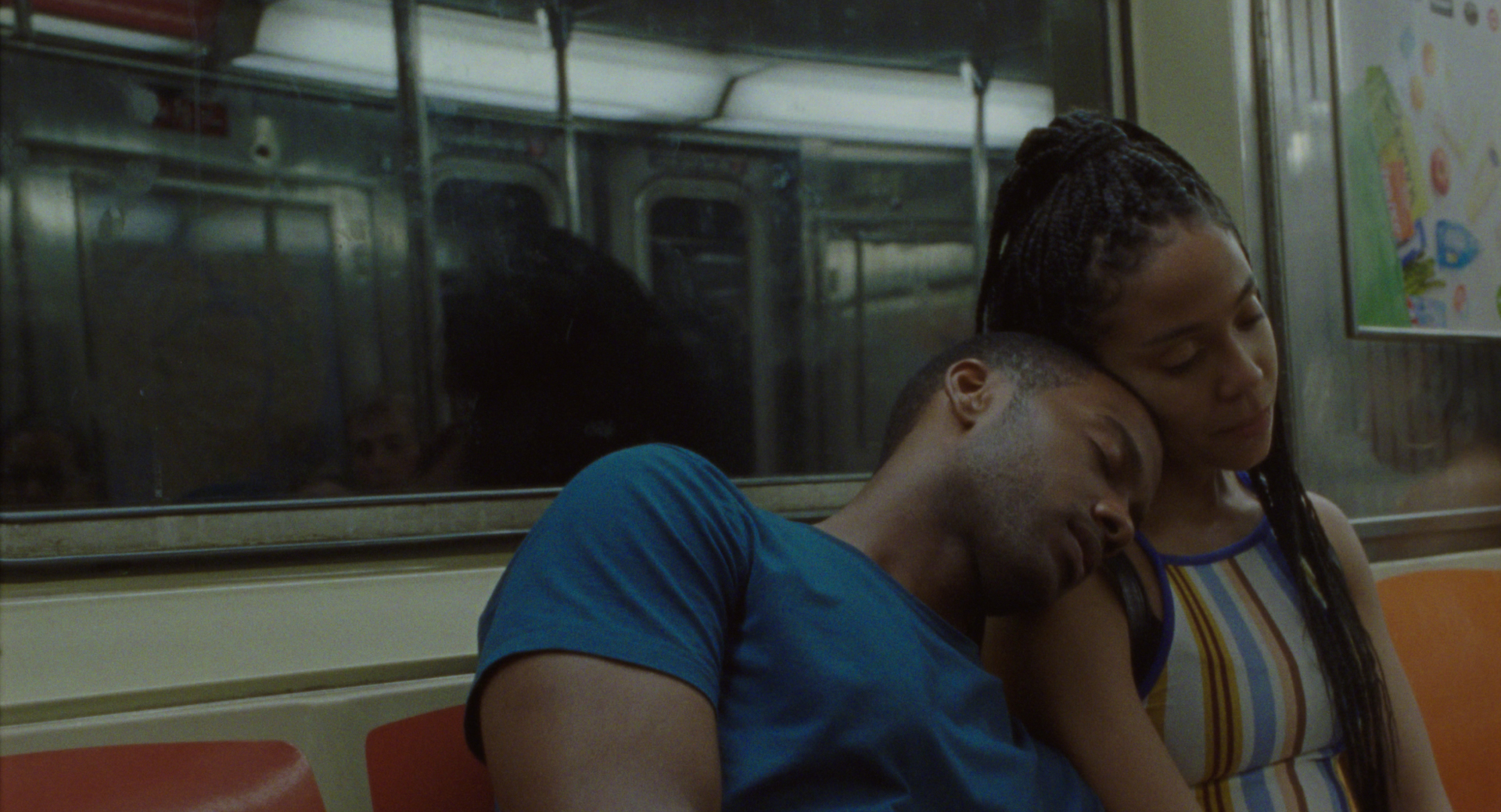"Joshua Boone as ""Isaiah"" and Zora Howard as ""Ayanna"" in Rashaad Ernesto Green's 'Premature'."