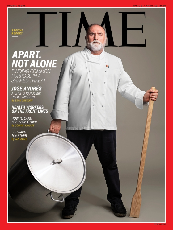 Apart Not Alone Jose Andres Time Magazine Cover